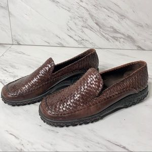 Cole Haan Country Adrien Woven Leather Loafer 6.5